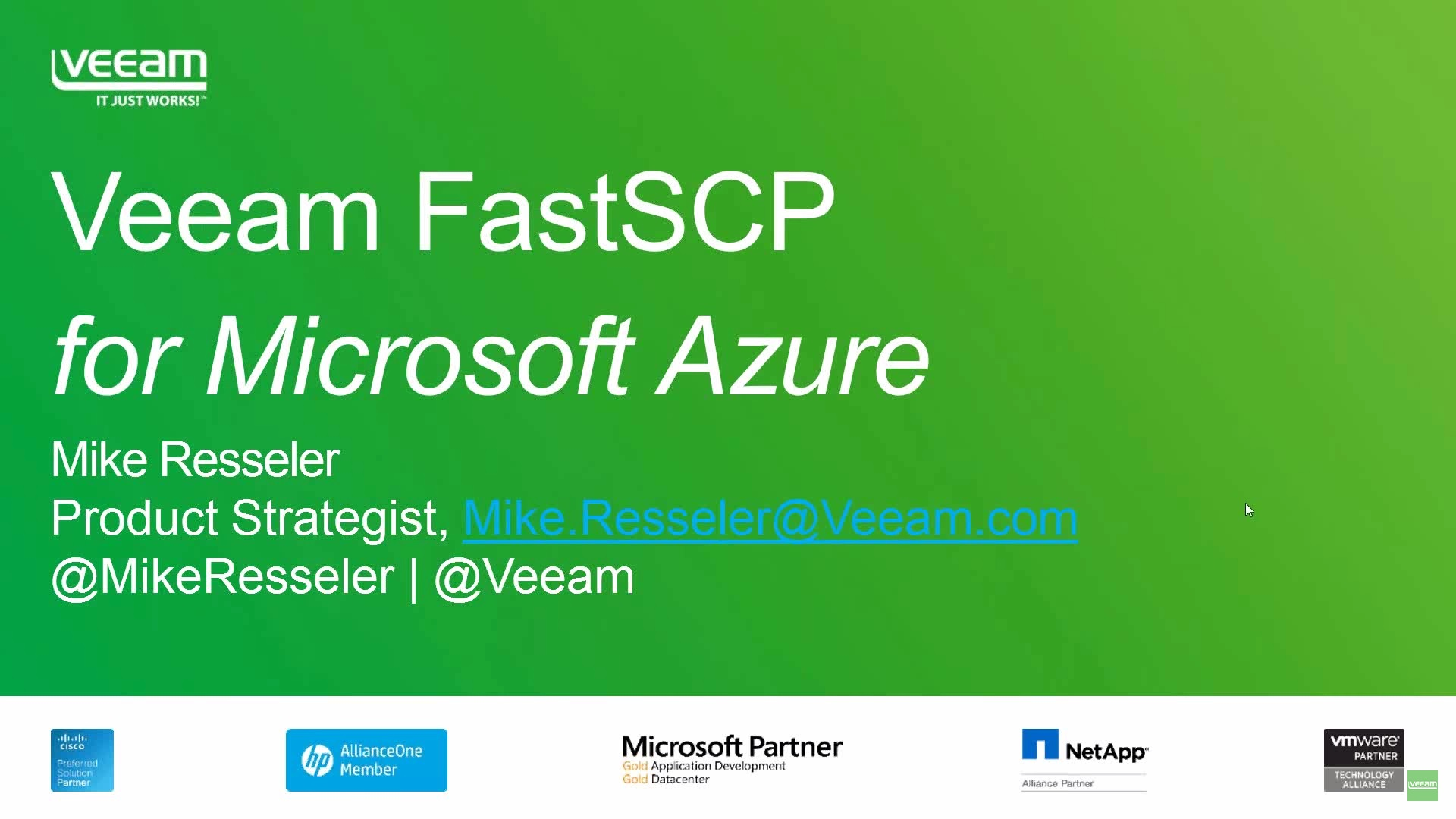 Get free, secure file copy for Azure VMs with Veeam FastSCP for Microsoft Azure