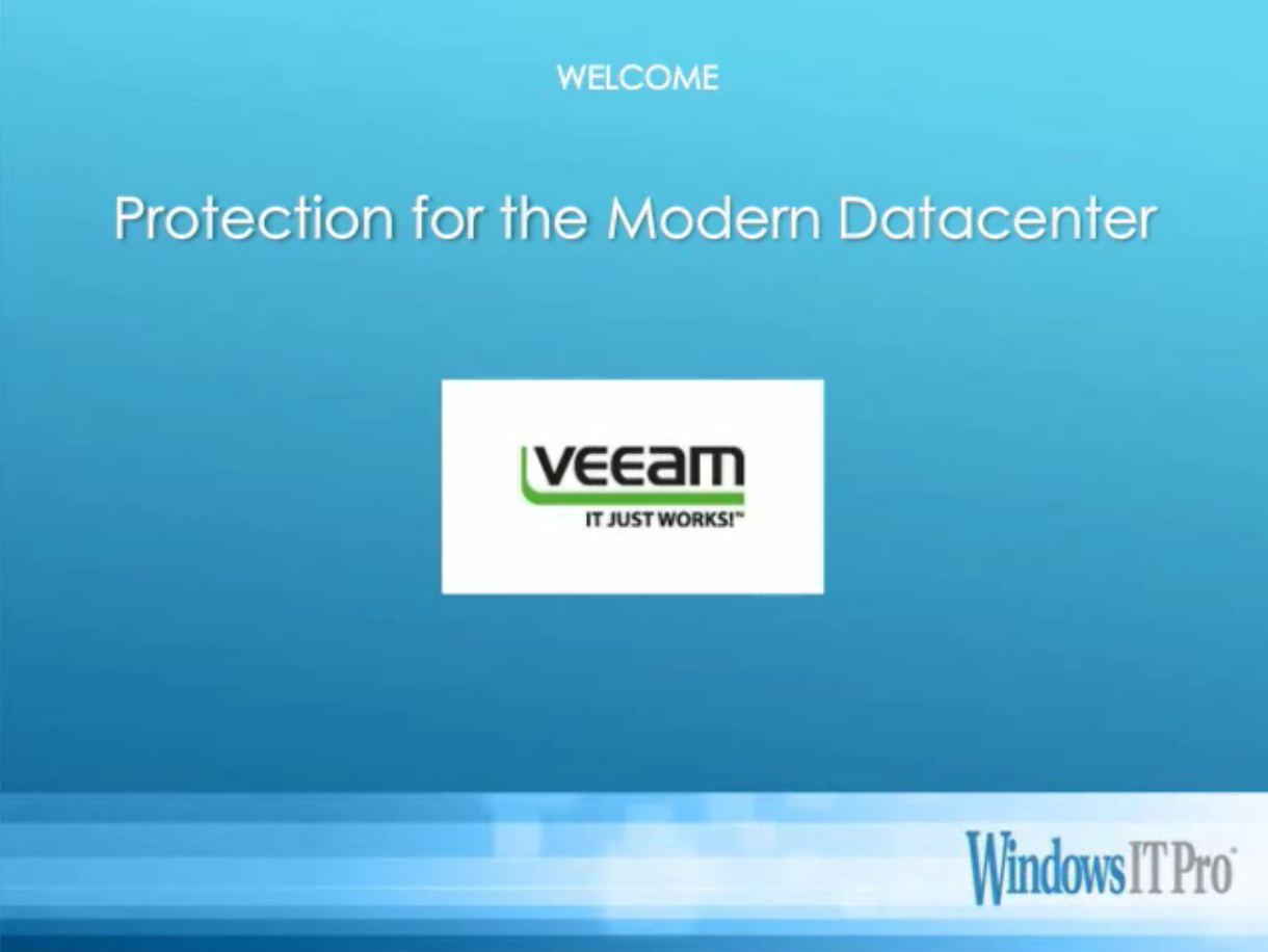 Protection for the Modern Datacenter