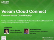 Veeam Announces NEW Feature – Veeam Cloud Connect