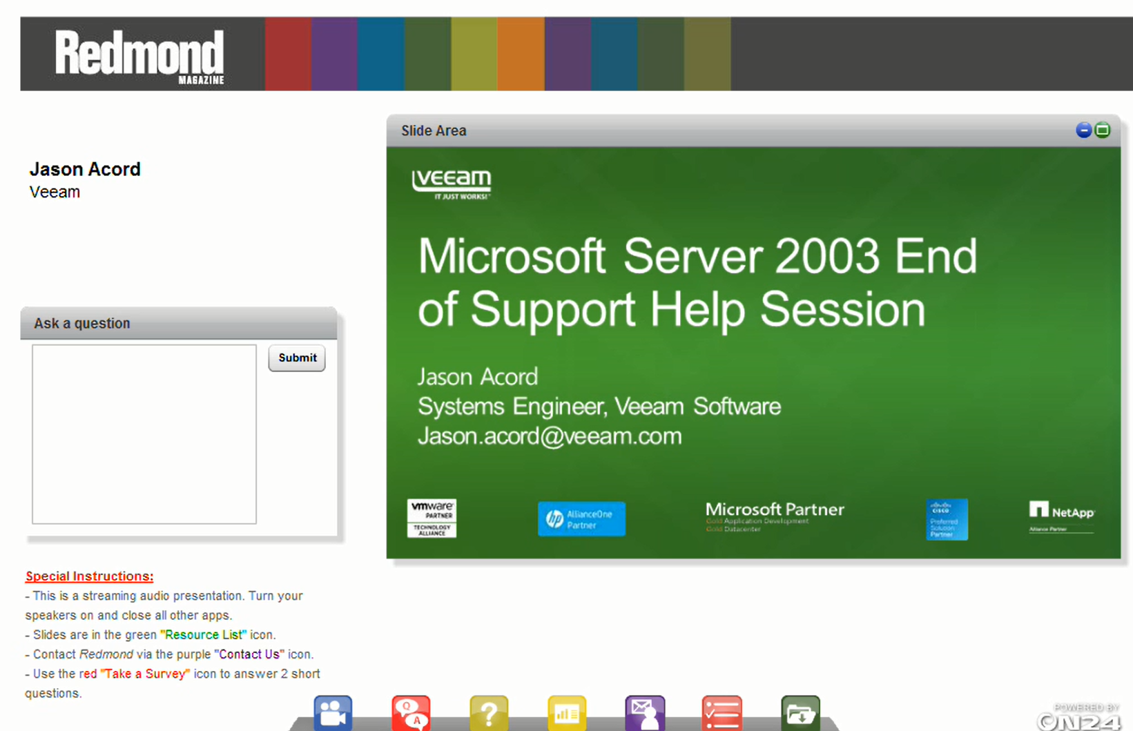 Windows Server 2003 End of Support Help Session