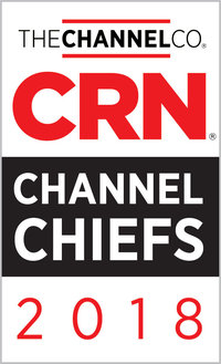 Kevin Rooney, Vice President of Americas Channel, Recognized as 2018 CRN® Channel Chief