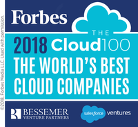 Veeam Named to the Forbes 2018 Cloud 100