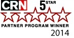 Veeam gagne 5 étoiles au Partner Program Guide 2014 de CRN