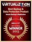 Récompense VMworld Best of Breed Virtualization Review
