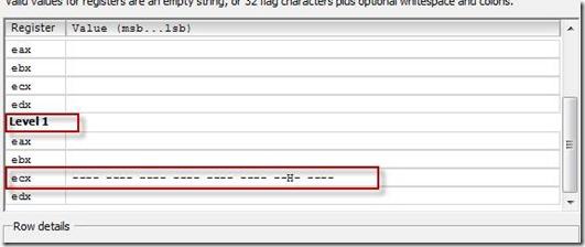 Add CPU mask Level ECX