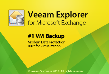 Veeam Explorer for Exchange is available as an additional component of Veeam Backup Free Edition after its installation.