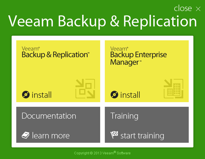 Downloading Veeam Backup Free Edition and installing it on a Windows-based OS