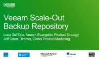Recorded Webinar - Simplifying backup storage management with Unlimited Scale-out Backup Repository
