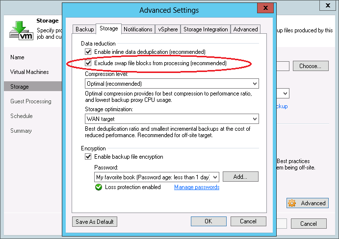 Veeam BitLooker is the first solution offering the option to exclude deleted files or certain folders.