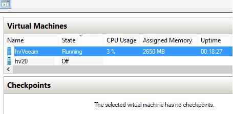 Hyper-V dynamic memory. VM is under workload