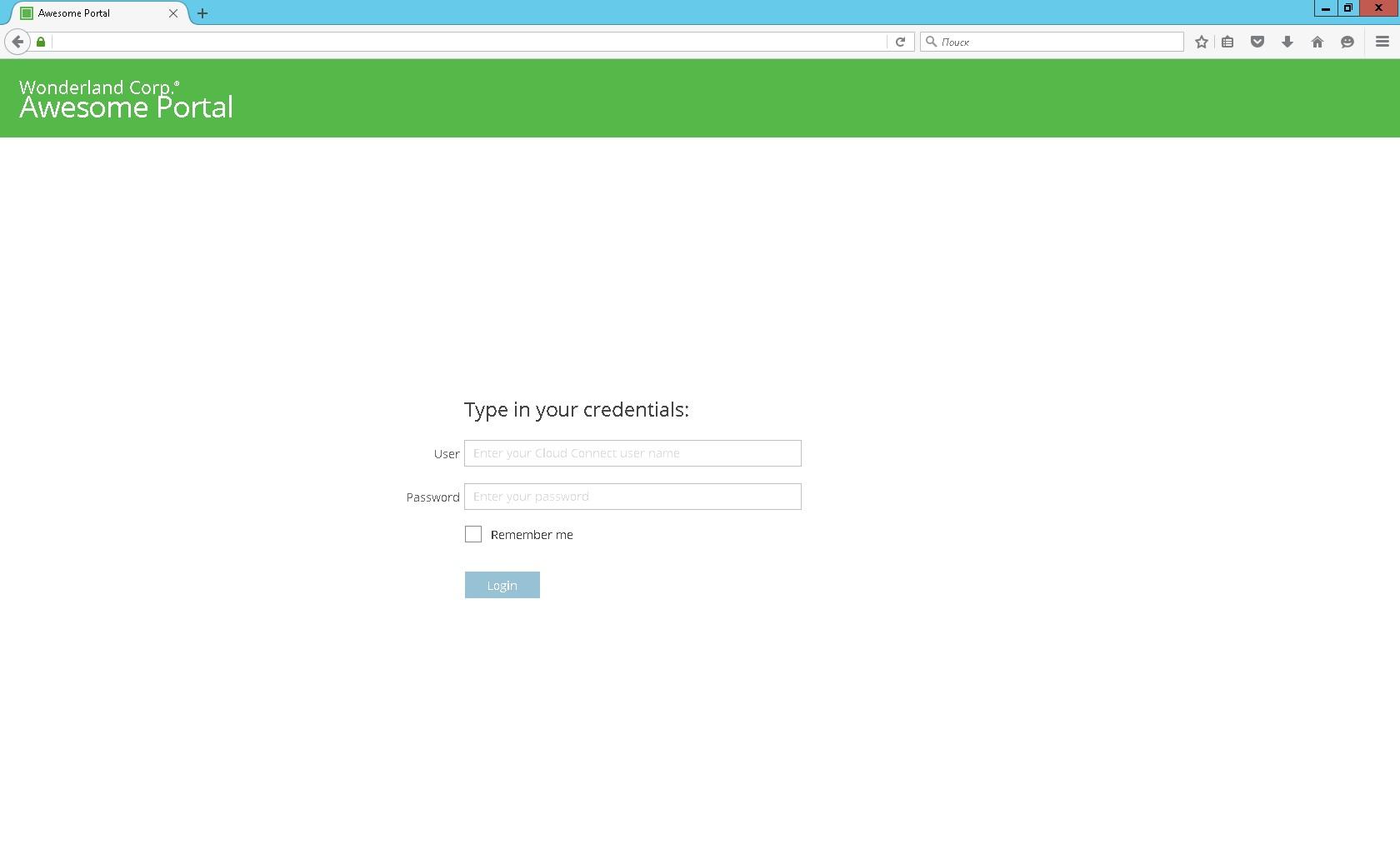 Veeam Cloud Connect Portal