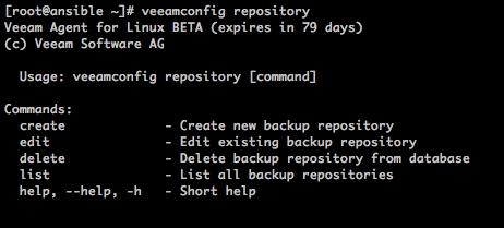 Veeam Agent for Linux Beta