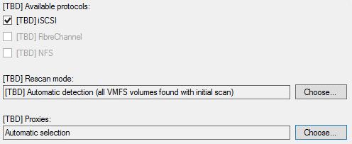 Veeam and Nimble Storage integration