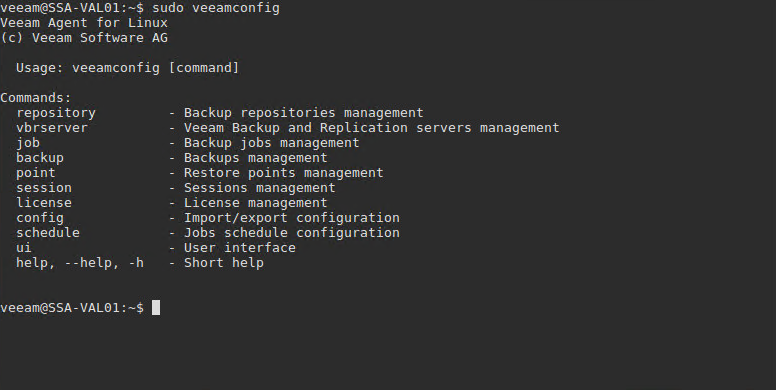 Veeam Agent for Linux