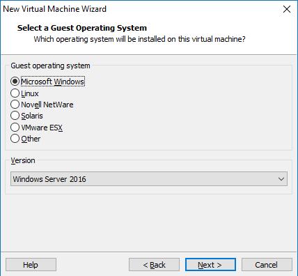 Hyper-V based on Windows Server 2016