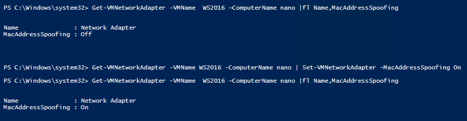 Enable MAC address spoofing to let VMs on that nested Hyper-V communicate with the rest of the network