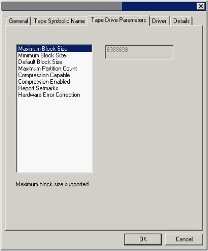 Troubleshooting Invalid block size