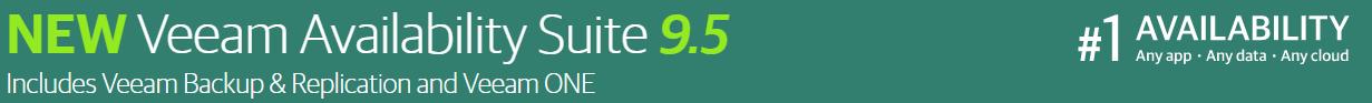 Agent management in Veeam Availability Suite 9.5 Update 3
