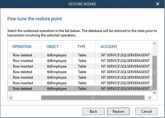 Veeam Explorer for Microsoft SQL Server