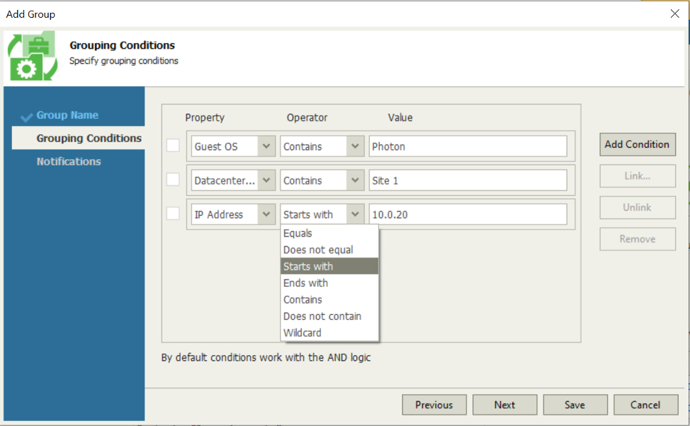 Using Veeam ONE Business View to create vSphere tags