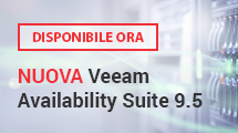 NUOVA Veeam Availability Suite 9.5