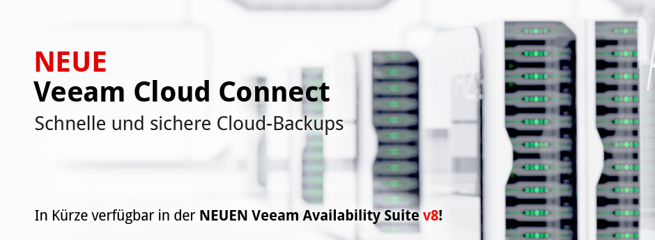 NEW Veeam Cloud Connect