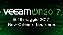 VeeamON 2017 - Prova l'Availability!