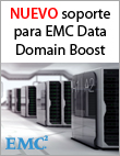 Veeam se integra con EMC Data Domain Boost
