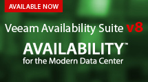 NEW Veeam Availability Suite v8