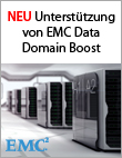 Veeam mit Integration von EMC Data Domain Boost für schnellere Backups