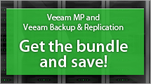 Get Veeam Management Pack and Veeam Backup & Replication together and save!