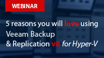 Discover new capabilities for Hyper-V in Veeam Backup & Replication v8