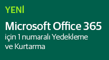 Microsoft Office 365 için Veeam Backup