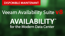 NOUVEAU Veeam Availability Suite v8