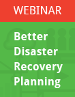 Better Disaster Recovery Planning
