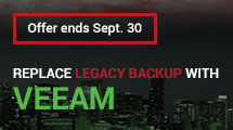 Switch to Veeam and Save 25%