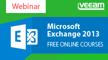 Microsoft Exchange 2013 Free online courses