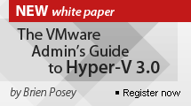 The VMware Admin's Guide to Hyper-V 3.0