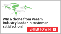 Veeam is #1 in customer satisfaction!