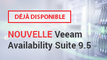 NOUVELLE Veeam Availability Suite 9.5