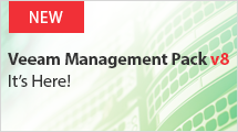 NEW Veeam Management Pack v8 for System Center
