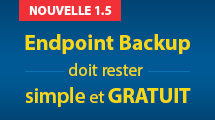 Sauvegarde gratuite pour postes fixes et ordinateurs portables Windows