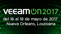 VeeamON 2017 - Descubra Availability!