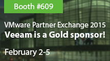 See Veeam at VMware Partner Exchange