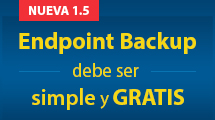 Backup gratuito para equipos de escritorio y portátiles con Windows