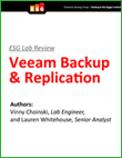 Laboratorní test společnosti ESG: Veeam Backup & Replication
