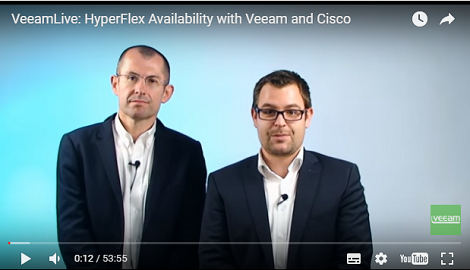 Cisco HyperFlex Availability powered by Veeam: What you need to know