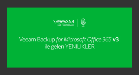 Veeam Backup for Microsoft Office 365 v3 ile gelen YENILIKLER