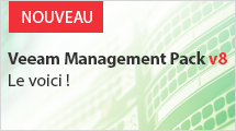 NOUVEAU Veeam Management Pack v8 pour System Center