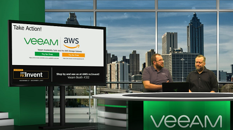 Building a modern data protection strategy with Veeam® and AWS